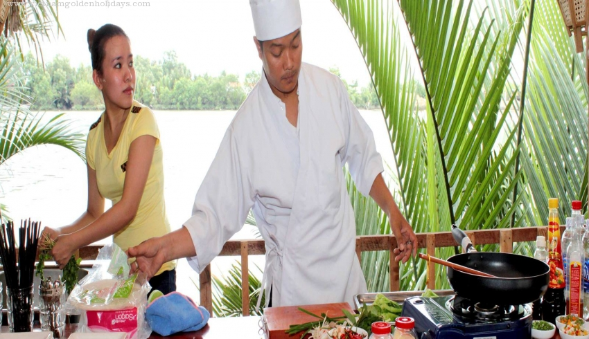 Mekong Delta Cruise & Cooking Class 3days Tour