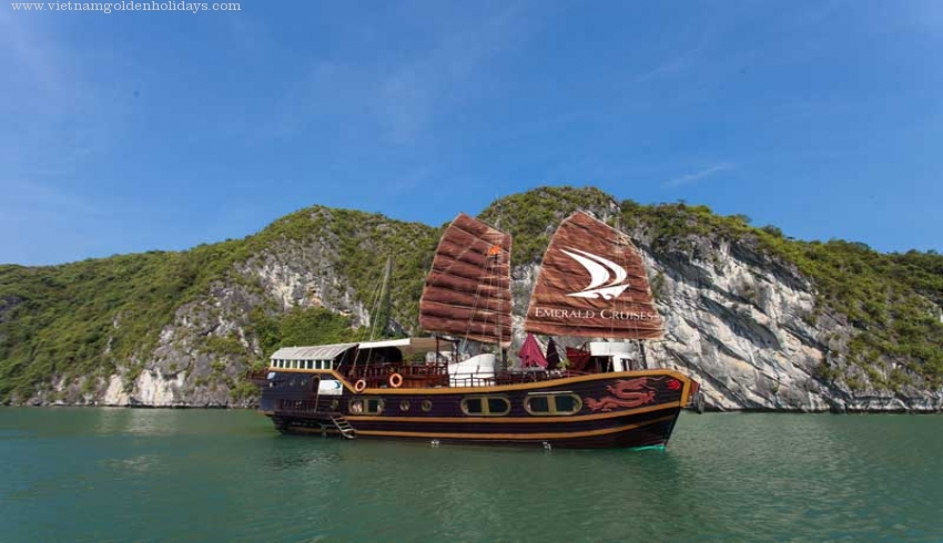 Cat Ba island & Lan Ha bay 2days tour Emerald Cruise